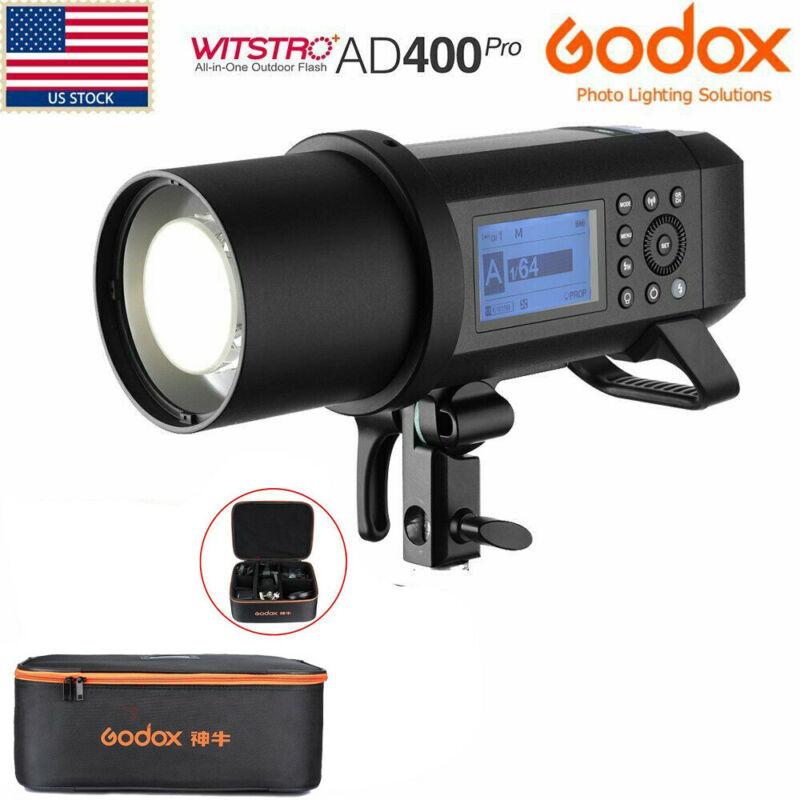 US Godox AD400Pro 400Ws Wireless TTL All-in-One Studio Outdoor Flash+CB-09 Case