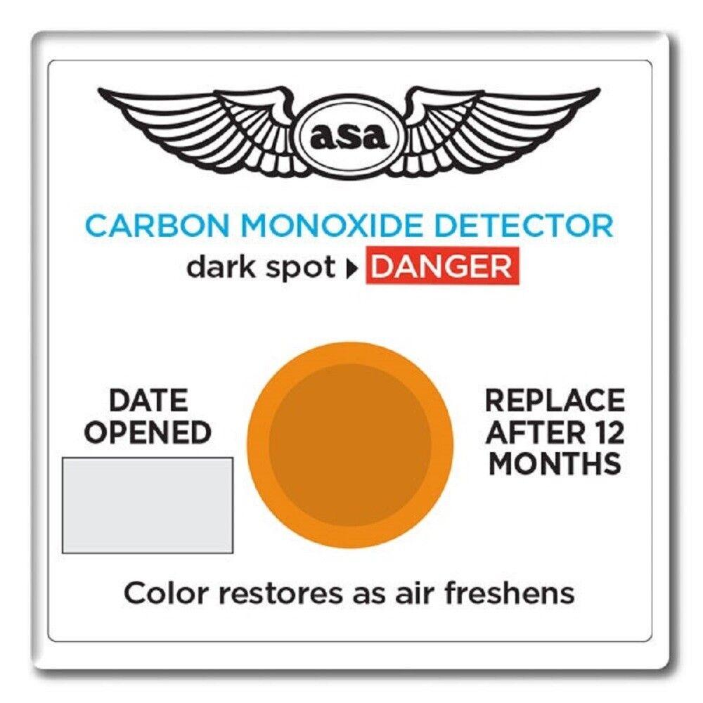 ASA Carbon Monoxide Detector - Airplane Portable CO Detector - ASA-CO-D
