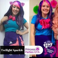 My little pony parties! Equestria girls