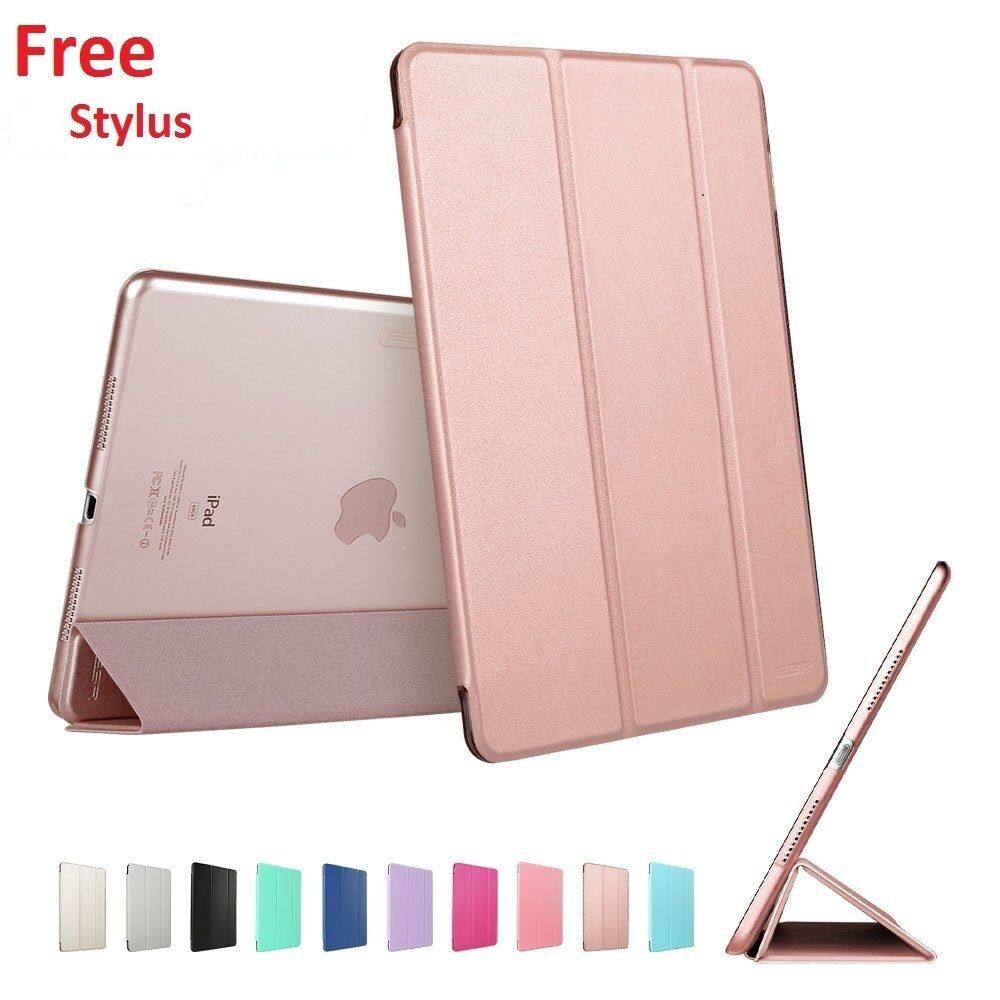 Smart Stand Magnetic Leather Cover For Various APPLE iPad Models