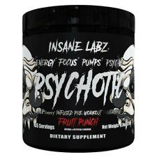 INSANE LABZ - PSYCHOTIC BLACK - MID STIMULANT PRE WORKOUT ...