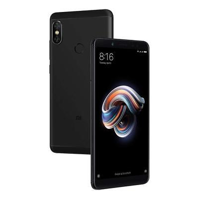 "Xiaomi Redmi Note 5 64GB Jet-black, Dual Sim, 4GB RAM, 5.99"", GSM Unlocked Global Ve"