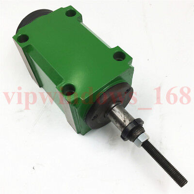 Mechanical Spindle Head Unit Bt40 Power Head 30006000rpm With Drawbar Milling