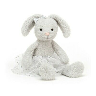 "Jellycat large STELLA Grey Bunny Rabbit Ballerina Tutu Soft Toy  15""  Jelly 5746 for sale  Shipping to Ireland"