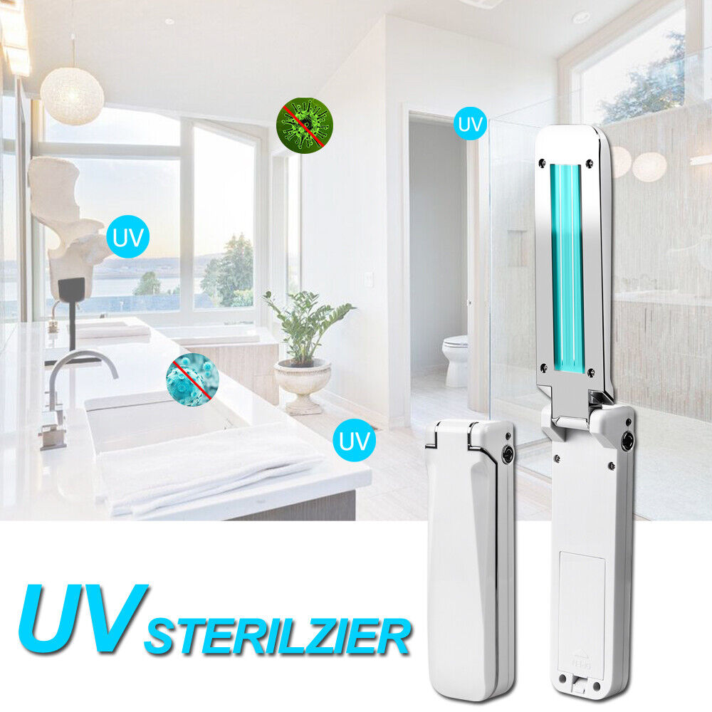 Portable Travel Wand Ultraviolet Disinfection Lamp for Handheld Ultraviolet Germicidal Lamp for Home Travel Cellphone Kids Toys Keep Clean. Onke Uv Light Sanitizer