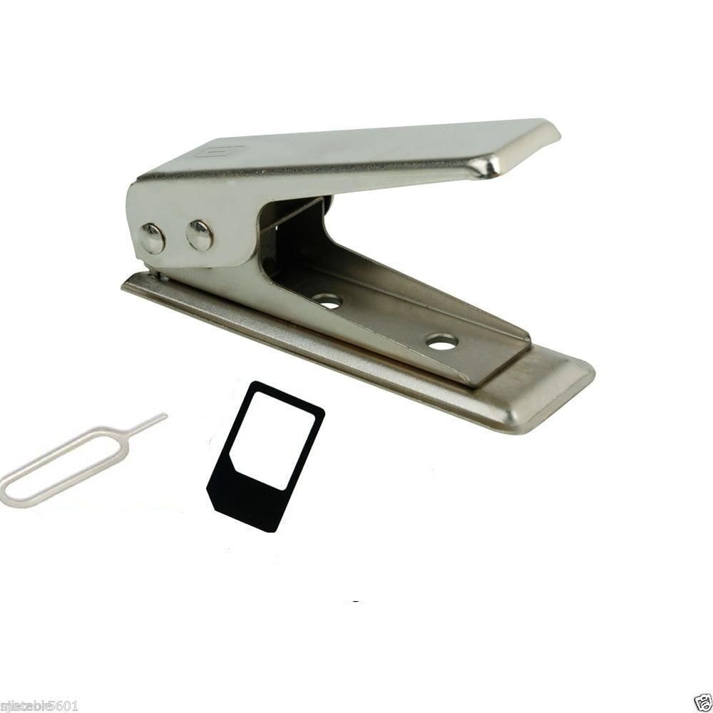 New Micro/Standard to Nano SIM Card Cutter For Apple iPhone 4 5 6 + Adapters Cell Phone Accessories
