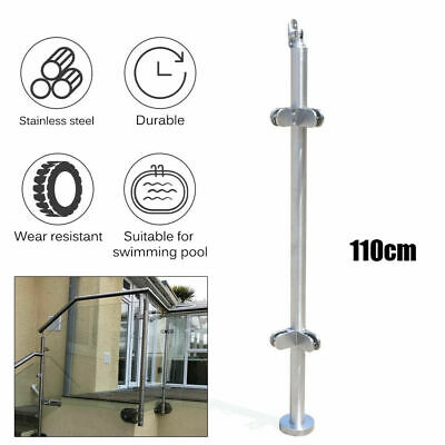 Stainless Steel 316 Grade Railing Guardrail Cornor Post for Glass Railing 8~12mm