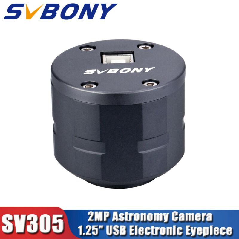 "SV305 2MP Astronomy Camera 1.25""USB Electronic Eyepiece for PlanetaryPhotography"