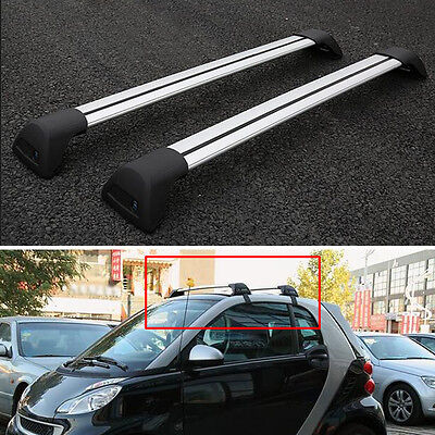 Universal Car Top Rack Cross Bars Baggage Luggage Holder For Mercedes-Benz Smart