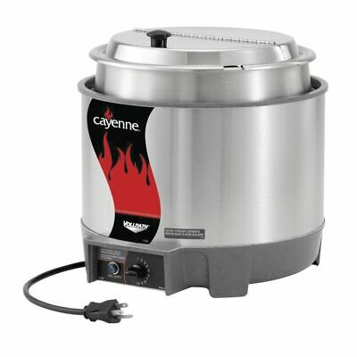 Vollrath Heat N Serve Countertop Food Rethermalizer 11 Qt Round - 12 58dia X 9