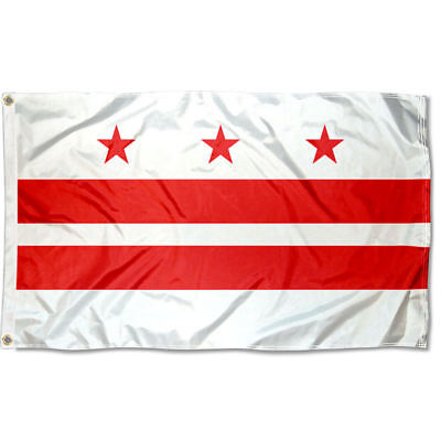 Washington DC Flag for Flagpole