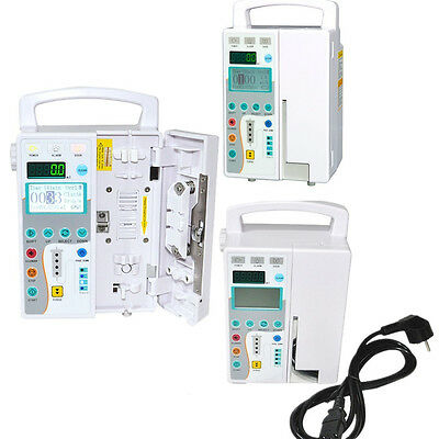 Medical Infusion Pump Iv Fluid Equipment Voice Sound Alarm Monitor Kvo Purge Fda