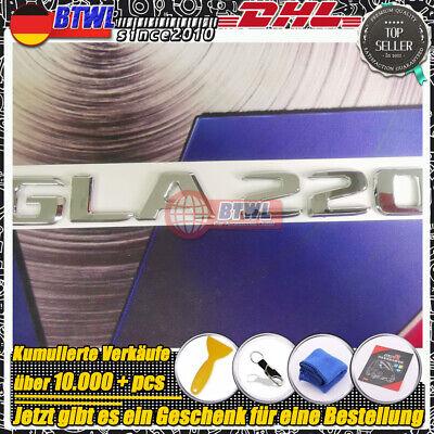 Silber GLA220 gla220 Emblem Badge für Mercedes Benz g class