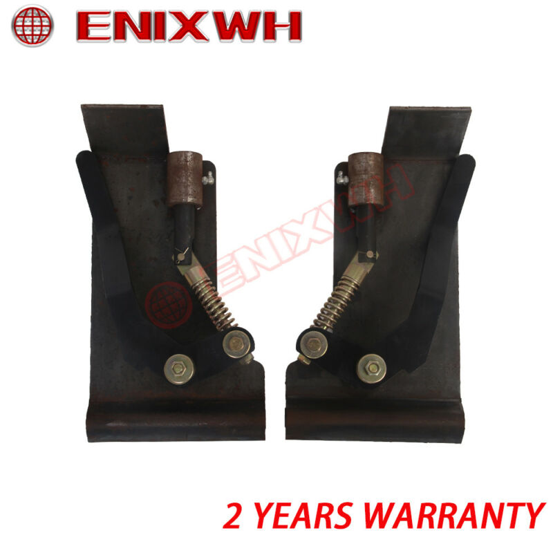 1 Pair Skid Steer Quick Tach Conversion Adapter Latch Box