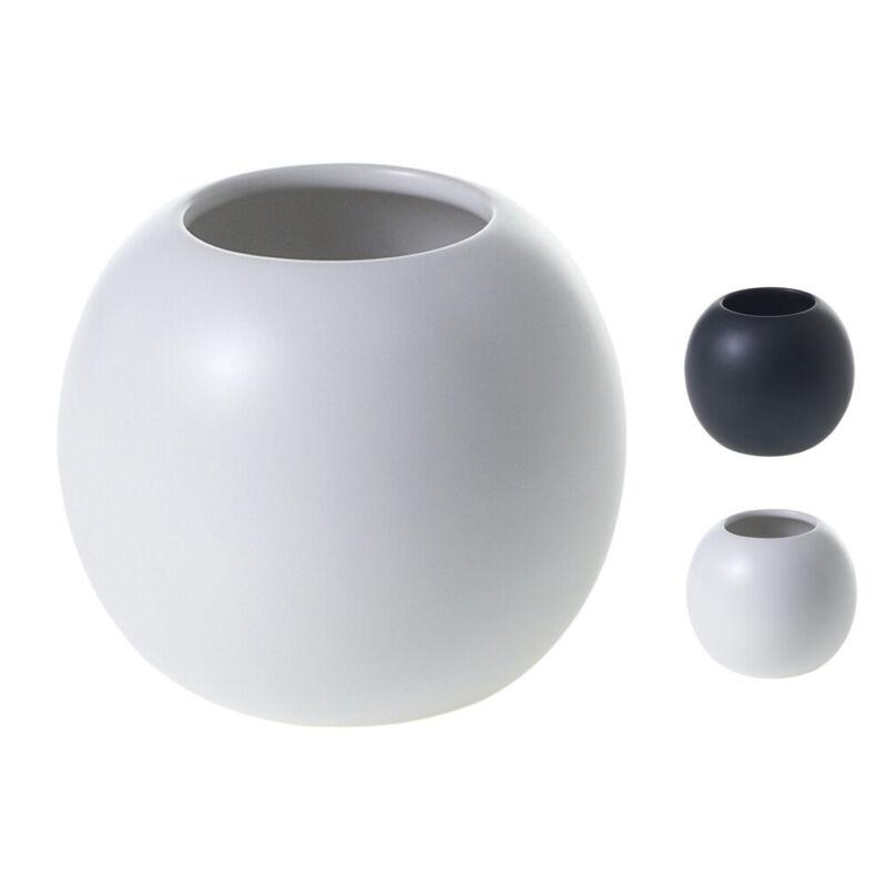"Accent Decor Simply Bud Vase, Solid Matte Ceramic Flowers, Succulents 4"" x 3.5"""
