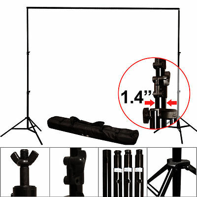 Lusana Studio 10x8.5ft Photography Heavy Duty Background Support Stand Carry Bag