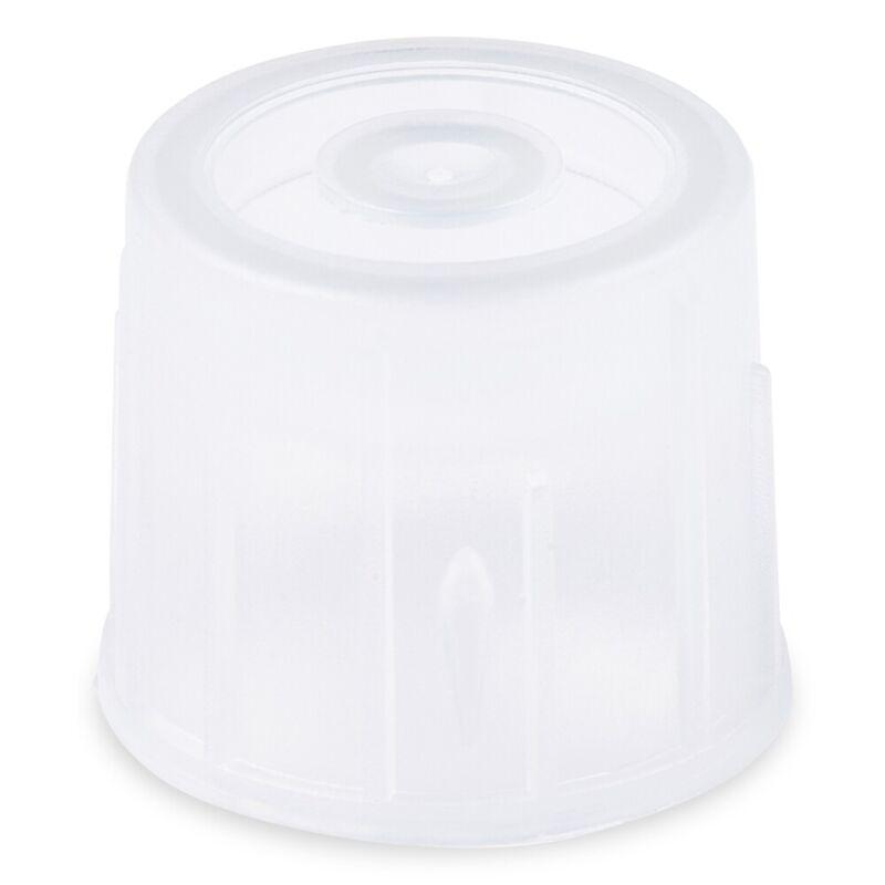 Dual Position Snap Cap, 17mm, Natural, LDPE  (Case 5000)