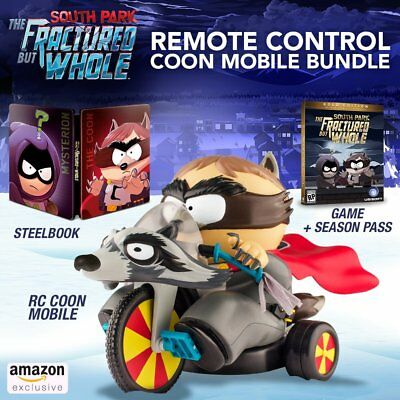 South Park  The Fractured But Whole Remote Control Coon Mobile Bundle  Ps4  New