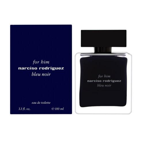 Narciso Rodriguez bleu noir For Him Cologne Perfume 3.4 oz 100 ml EDT Spray Men