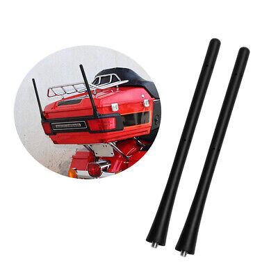2pcs US Car Auto Short Stubby Antenna Aerial AM/FM Radio Mast For - Car Short