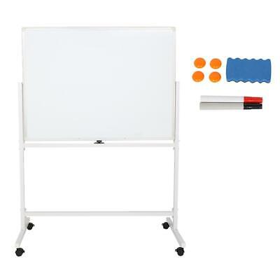 Double Sided 47 X 35 Dry Erase Board Stand Magnetic Whiteboard Office Supplies