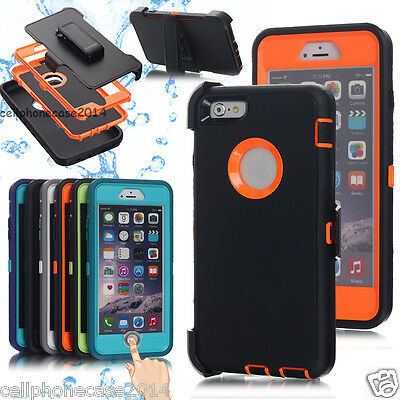 For iPhone 7 8 Plus 6 6s Waterproof Shockproof Dirt Proof Durable Case Cover