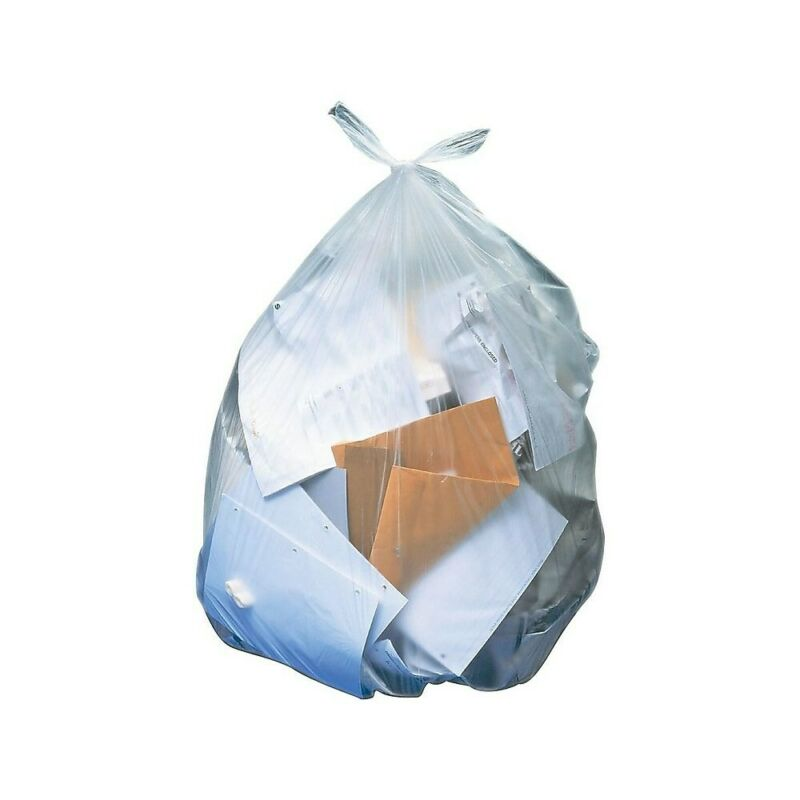 Brighton Trash Bags 16-20 Gallon 24x32 Low Density 0.7 Mil Clear 250 CT 814900