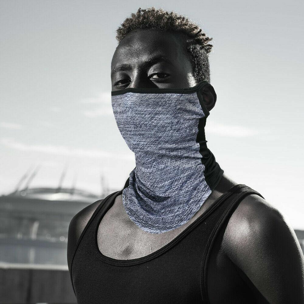 Balaclava Face Mask Cooling Neck Gaiter Sun Shield Bandana UV Headband Scarf US Clothing