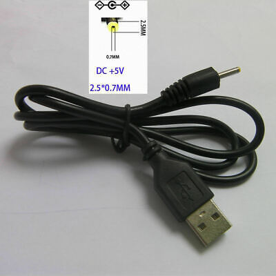 Elect Device (10x USB to 2.5mm 0.7mm Tip MP3 MP4 MP5 Elect Device Laptop PC 5V DC Power Cable )