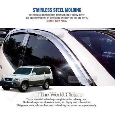 Chrome Door Catch Molding  For  Hyundai Terracan ////// 2001 ~ 2006