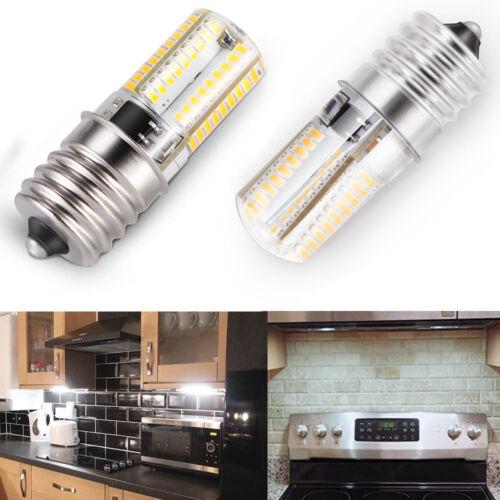 2x E17 LED Bulb Microwave Oven Light Dimmable White 6000K Li