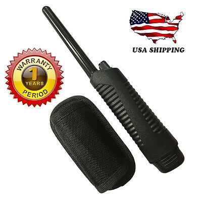 US Black Pinpointer Metal Detector Nail Coins Hunter Search ProPointer & Holster