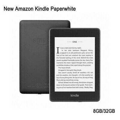 New Amazon Kindle Paperwhite (10th Gen), 8GB/32GB, Wi-Fi with Special Offers