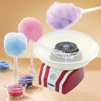 Cotton Candy Maker Machine Fluffy Sugar Floss Commercial Carnival Party Tabletop