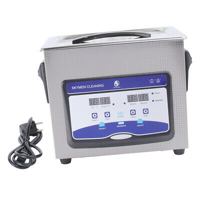 New Stainless Steel 4.5l Liter Industry Heated Ultrasonic Cleaner Heater Wtimer