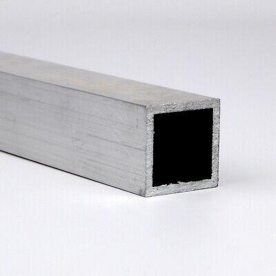 1 X 0.125 Aluminum Square Tube 6063-t52-extruded 72.0