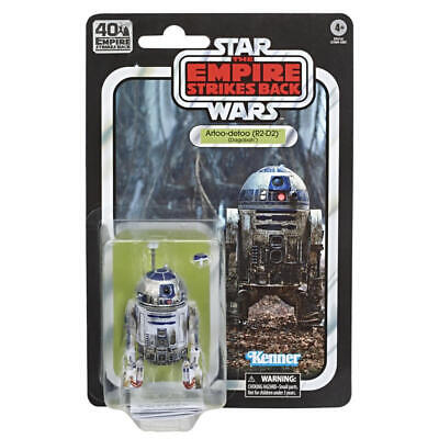 Star Wars 40th Anniversary ESB Artoo-detoo R2-D2 Dagobah 6-Inch Action Figure