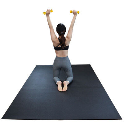 7bfc1dd181 RevTime Large Exercise Mat 8 x 5 feet   HighHigh Density Mat for Home Cardio