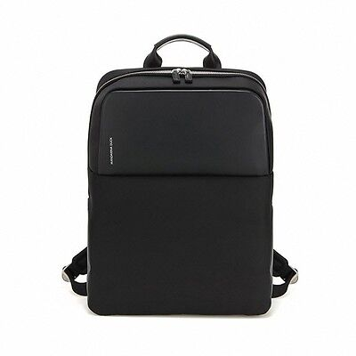 MANDARINA DUCK Men Backpack SMALTO SMT01001 Black Business Nylon Leather Laptop