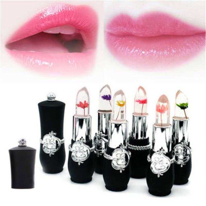 Color Magic Lip Flower Lipstick Jelly Beauty Balm Temperature Change 1FKJulcT3