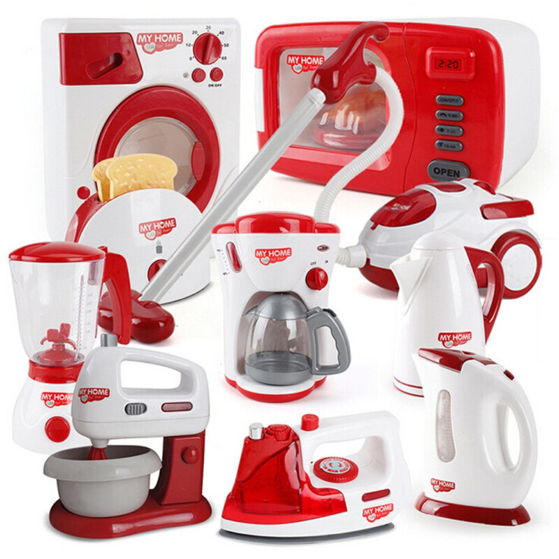 christmas children gift play kitchen home appliances
