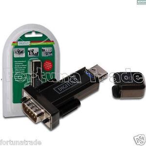 USB auf Seriell DA-70156 DB9 ADAPTER + Nullmodemkabel 1,8m RS232 NEU FTDI