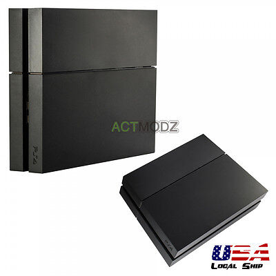 Solid Matte Black Hard Drive Bay Cover Faceplate for Playstation 4 PS4 -