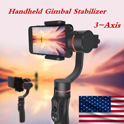 Handheld 3-Axis Gimbal Stabilizer For IOS/Android Smart Phone Camera GoPro Video