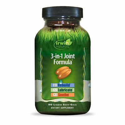 Irwin Naturals 3-In-1 Joint Formula Supports Healthy Joints - 90 Soft-Gels 1 Joint Formula