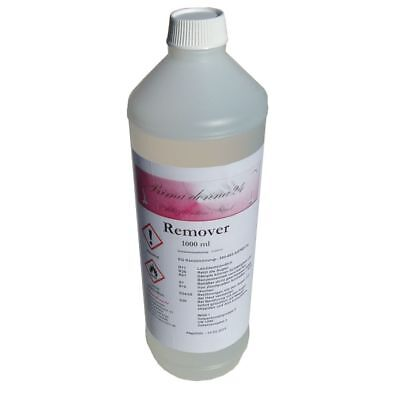 Soak Off Gel Remover (1000ml Remover Entferner für Gel Polish UV-Soak-Off-Gel Gellack)