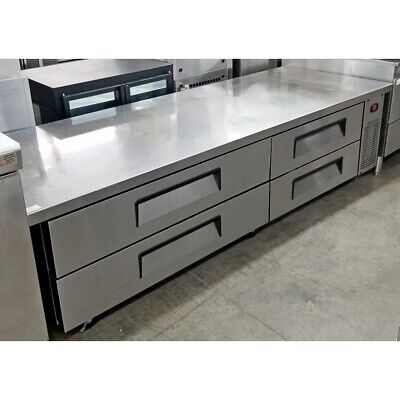 Turbo Air Tcbe-82sdr Refrigerated Chef Base 83 Stainless Steel Exterior