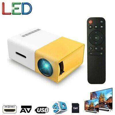 YG300 Mini 1080P LED ;CD Video Projector 3D Home Theater Cinema HD-MI/USB/AV/SD