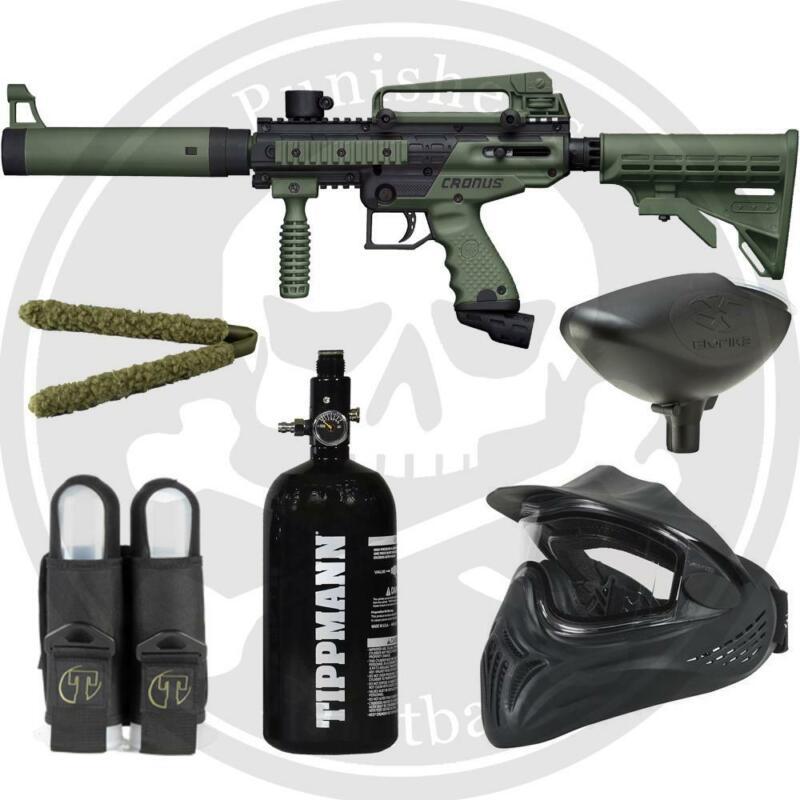 Tippmann Cronus Tactical Ultimate Paintball Marker Package