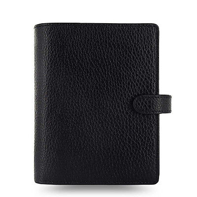 Filofax Pocket Size Finsbury Organiser Planner Diary Black Leather - 025360 Gift
